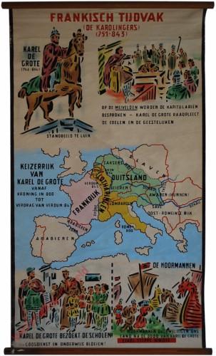 Frankisch tijdvak (De Karolingers) (751-843)